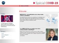 Lettre d'information du CNRS N° Spécial Covid-19