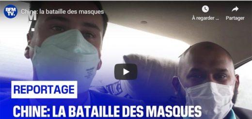 Chine: la bataille des masques
