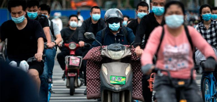 "capture d'écran du reportage ""Wuhan to test all residents for coronavirus in 10 days after new cases emerge"". © CNN"
