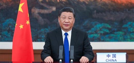 M. Xi Jinping, président de la République populaire de Chine. © Xinhua/Li Xueren.