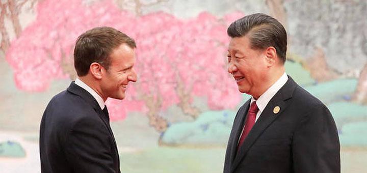 Un sommet entre l'UE et la Chine était prévu pour le 14 septembre (illustration). © LUDOVIC MARIN / AFP.