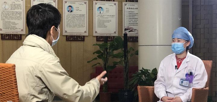 Capture d'écran de l'entretien « Interview par CGTN de Zhang Jixian, premier médecin à avoir alerté le CDC chinois sur le virus ». © CGTN
