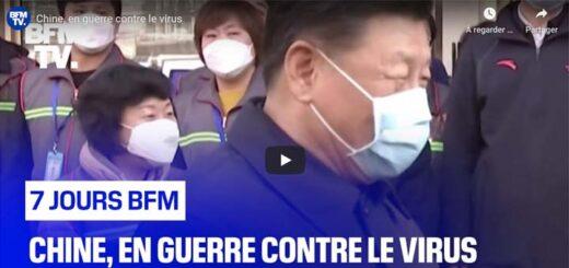 capture d'écran du reportage « Chine, en guerre contre le virus». © BFM TV.