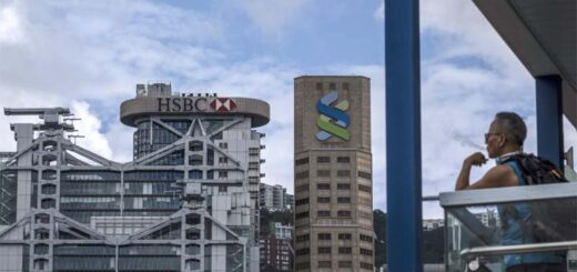 The 11 lenders including HSBC and Standard Chartered will partially or completely shut down operations at some 50 branches – about 5 per cent of the city's total. © Bloomberg