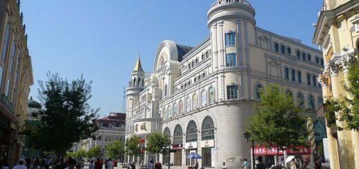 Immeuble dans le quartier de Daoli à Harbin, province du Heilongjiang. Fumihiko Uen. ©Wikimedia Commons