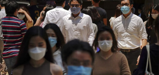Hong Kong saw its first locally transmitted infection in 18 days confirmed on Wednesday, though the woman involved had been living with two people believed to have brought the coronavirus back from the US. © Sam Tsang