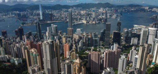 Hong Kong's GDP estimates were released on Wednesday. © Sun Yeung
