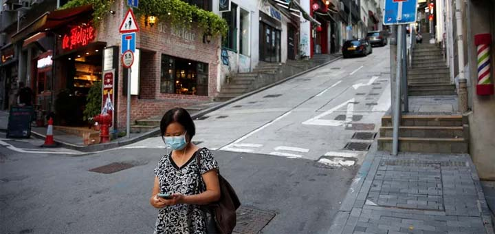 «La situation épidémique est extraordinairement grave à Hongkong», a déclaré l'adjoint de la cheffe de l'exécutif Matthew Cheung. © TYRONE SIU / REUTERS
