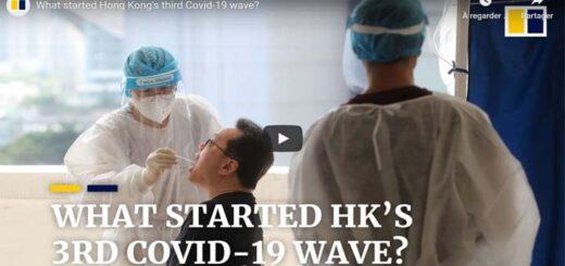 """capture d'écran du reportage """"What started Hong Kong's third Covid-19 wave?"""". © SCMP"""