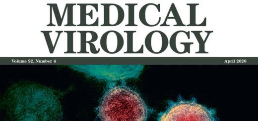 couverture de la revue Journal of Medical Virology.