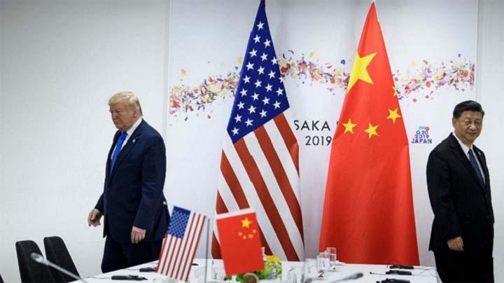 Trump and Xi © Getty