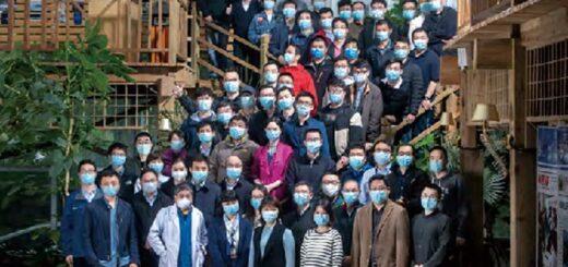新华社武汉前方报道团队合影 © Xinhua