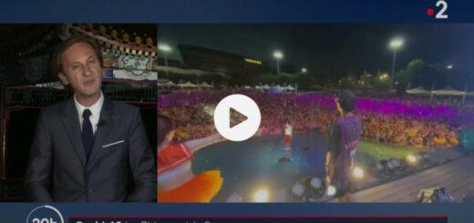 capture d'écran du reportage « Coronavirus : la Chine enfin sortie d'affaire ? ». © France Télévisions / France 2