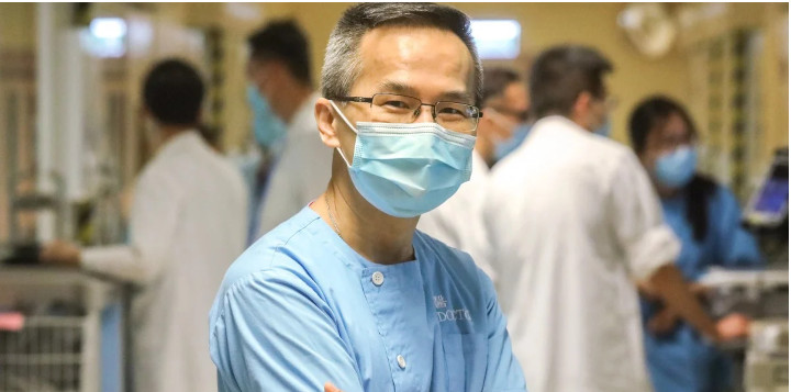 Dr Owen Tsang, medical director of the Hospital Authority's infectious disease centre. © K.Y. Cheng