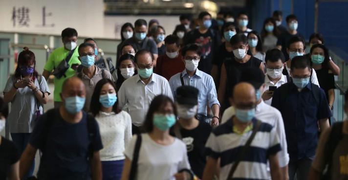 Hong Kong is battling a third wave of coronavirus infections. © Sam Tsang