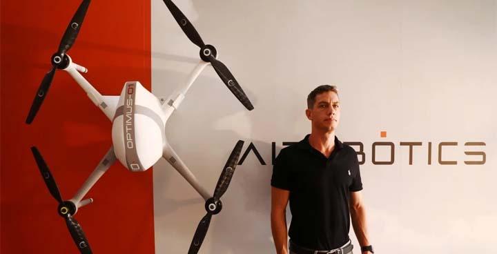 Airobotics CEO Ran Krauss. © Reuters