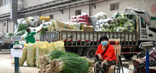 Urumqi rouvre les marchés agricoles sous réserve de mesures de prévention strictes © Xinhua/Song Yanhua