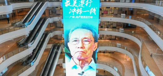 Zhong Nanshan has become a recognisable figure in China for his respiratory disease expertise. © Reuters