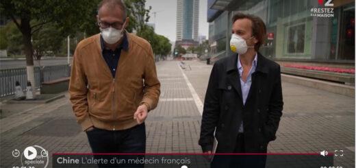 apture d'écran du reportage «Coronavirus : l'alerte d'un médecin français en Chine». © France 2