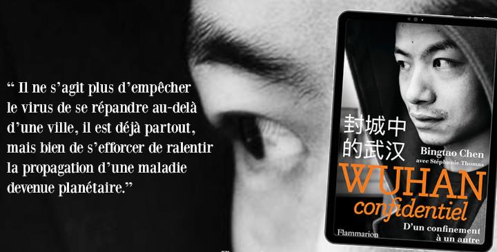 Wuhan Confidentiel de Bingtao Chen © Flammarion