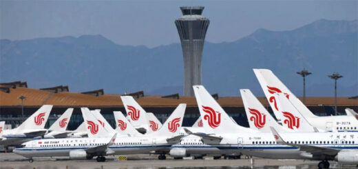 International flights will resume in limited numbers to Beijing starting on Thursday. © AFP