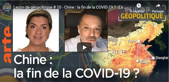 capture d'écran du reportage « Chine : la fin de la COVID-19 ? » © ARTE