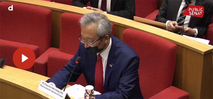 """Covid-19: """"Taïwan ne s'est jamais confinée"""" © Public Sénat"""