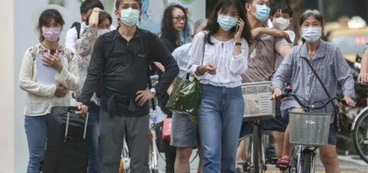 Since the start of the pandemic Taiwan has recorded 553 cases of Covid-19. © AP