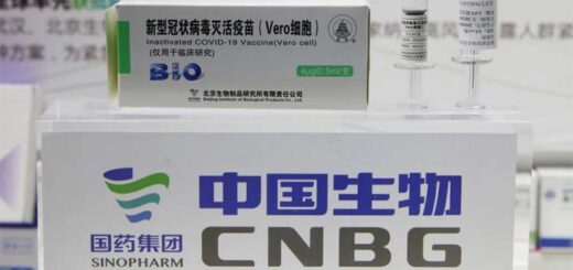 One CNBG executive said taking his company's vaccines produced antibody levels higher than those of recovered Covid-19 patients. © EPA-EFE