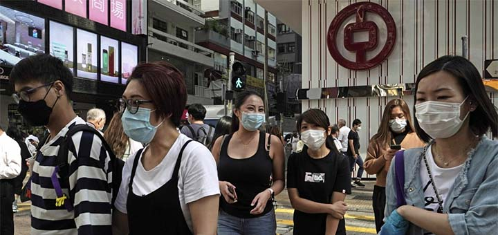 Hong Kong recorded nine new coronavirus cases on Tuesday. © AP