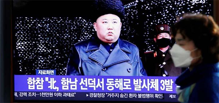 North Korean leader Kim Jong-un. © Reuters