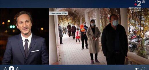 """capture d'écran du reportage """"Chine : Wuhan vit sans Covid-19"""" © France 2 / France Télévision"""