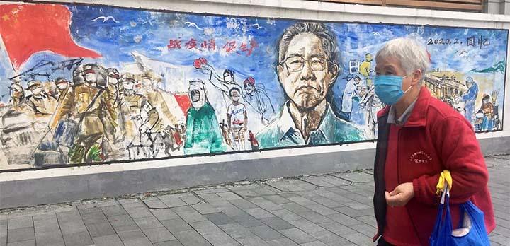 L'épidémie a été maîtrisée à Wuhan, mais une grande partie de la population continue de porter le masque dans les lieux publics. © RFI/Stéphane Lagarde