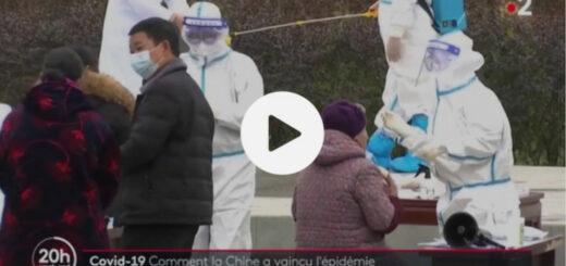 capture d'écran du reportage « Coronavirus : comment la Chine est-elle parvenue à reprendre le dessus sur l'épidémie ? ». © France 2 / France Télévision