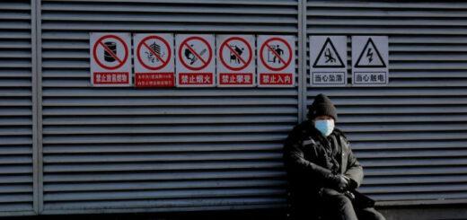 Pour la première fois depuis l'été, la capitale chinoise, Pékin, renoue avec le confinement. © EPA/MAXPPP/WU HONG