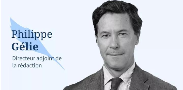 Philippe Gélie. © Le Figaro