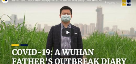 "capture d'écran du reportage ""Covid-19 : A Wuhan father's outbreak diary"". © SCMP"