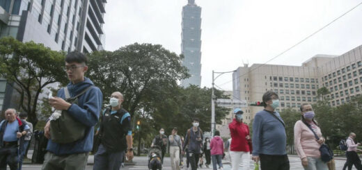 Taiwan has reported its first local coronavirus case in 253 days. © AP