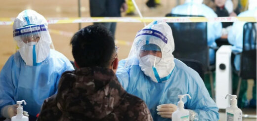 School children across Beijing's Daxing district have been told to stay at home after a spike in local infections. © Xinhua