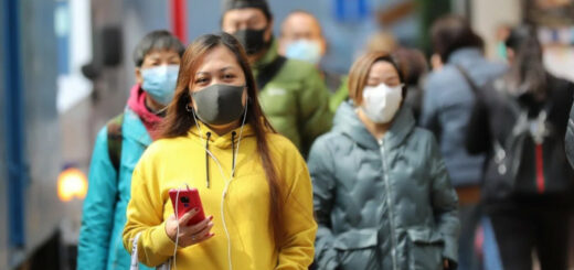 Hong Kong confirmed 53 new coronavirus cases on Monday. © Xinhua