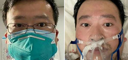 Le médecin Li Wenliang, décédé en février 2020 après avoir lancé l'alerte sur le danger du coronavirus. © AFP