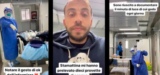 Mes quarante jours d'isolement total dans un hôpital chinois © Filippo Santelli / Courrier International / La Repubblica