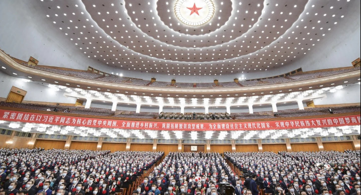 "The ""two sessions"" will begin at the Great Hall of the People in Beijing on Thursday. © Xinhua"