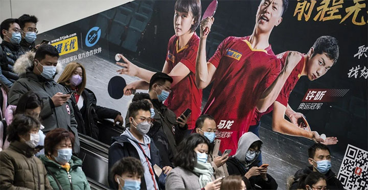 Researchers still cannot say why flu mostly disappeared in Shanghai after the coronavirus outbreak. © Bloomberg