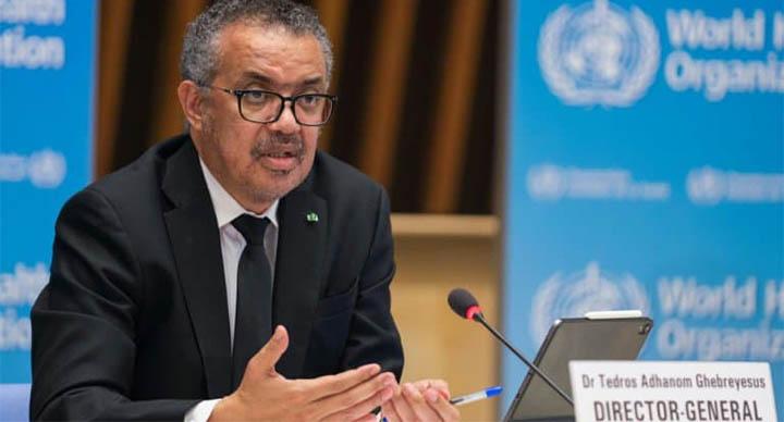 Le directeur général de l'OMS Tedros Adhanom Ghebreyesus le 12 février 2021 à Genève - Christopher Black © 2019 AFP