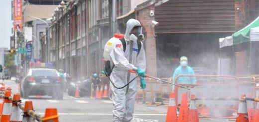Après cinq jours avec plus de 100 cas quotidiens sur le plan national, l'alerte épidémique de niveau 3, déjà en vigueur à Taipei et New Taipei, a été étendue le 19 mai à l'ensemble du territoire taïwanais. © CNA