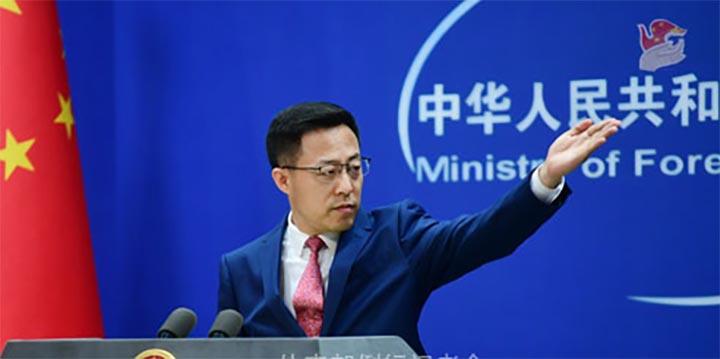 La première identification de la séquence du gène de la COVID-19 par des scientifiques chinois ne signifie pas que le virus a été fabriqué par des scientifiques du pays, a déclaré jeudi le porte-parole du ministère chinois des Affaires étrangères, Zhao Lijian. @ Xinhua