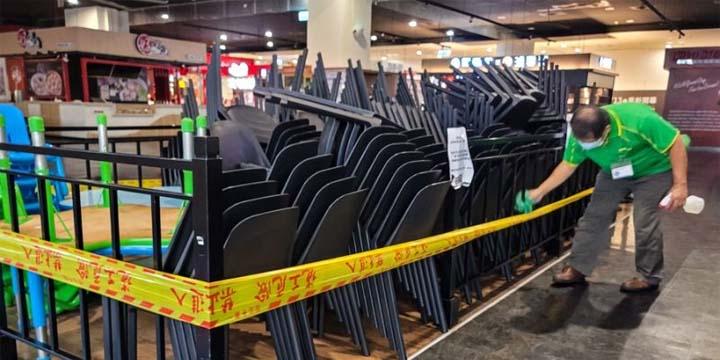 S'ils appliquent les lignes directrices du ministère de la Santé et des Affaires sociales, les restaurants pourront de nouveau assurer un service en salle à partir du 27 juillet à Taiwan. © CNA