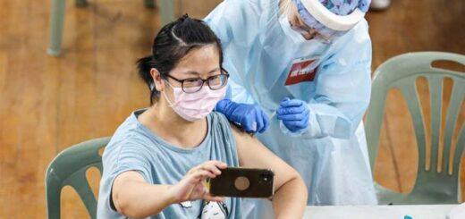 En date du 12 juillet à 17h, plus de 2,8 millions de personnes à Taiwan s'étaient enregistrées en ligne en vue d'une vaccination contre le Covid-19, une possibilité désormais offerte aux Taïwanais et résidents étrangers âgés de 18 ans et plus. © CNA