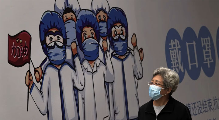Covid-19 prevention measures may have contributed to a dramatic fall in other infectious diseases, according to a group of researchers from Guangdong province. @ AP